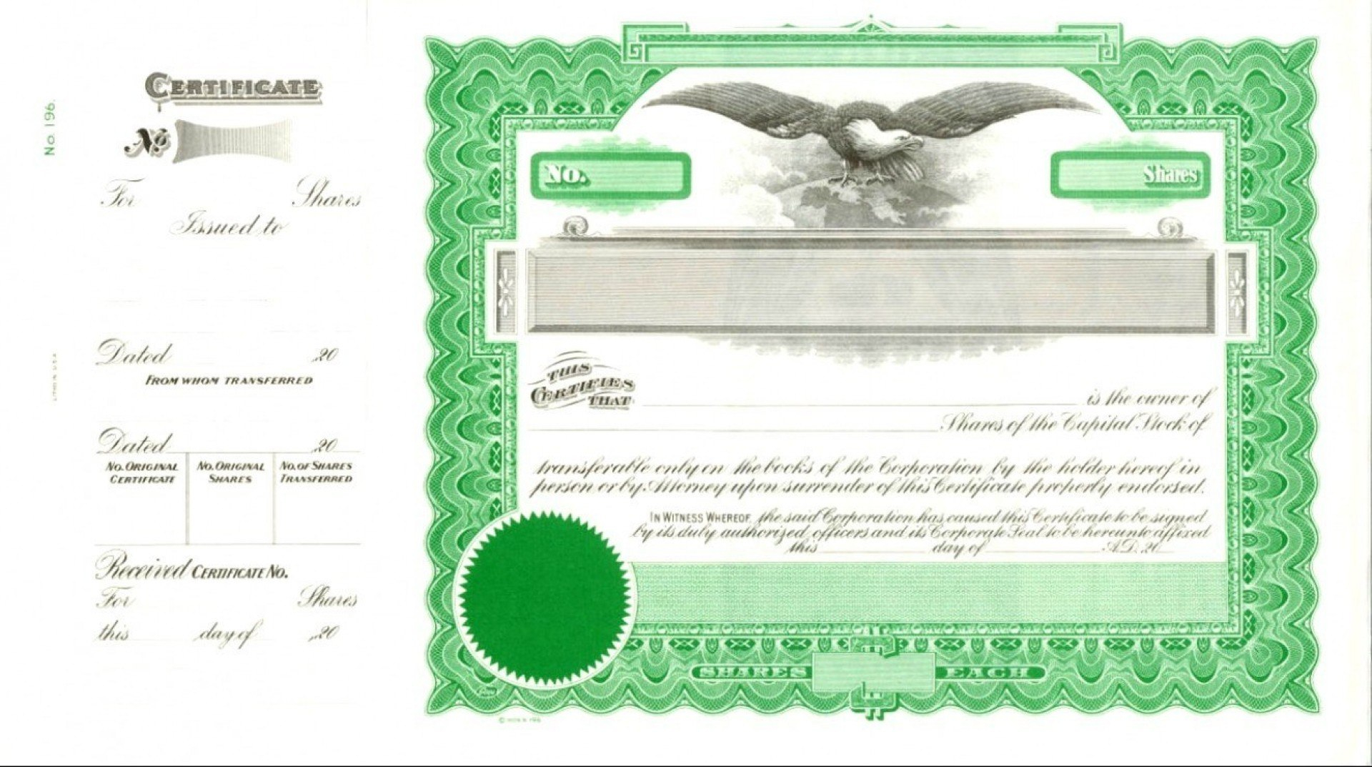 Template Ideas Free Stock Certificate Form Vector Illustration Pertaining To Free Stock Certificate Template Download