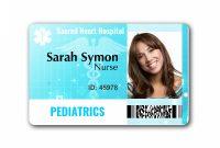 Template Ideas Id Badge Free Custom Card Templatesidcreator pertaining to Doctor Id Card Template