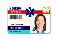 Template Ideas Id Badge Free Online Awesome Beepmunk Stunning in Hospital Id Card Template