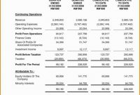 Template Ideas Non Profit Financial Statement Excel Report regarding Non Profit Monthly Financial Report Template