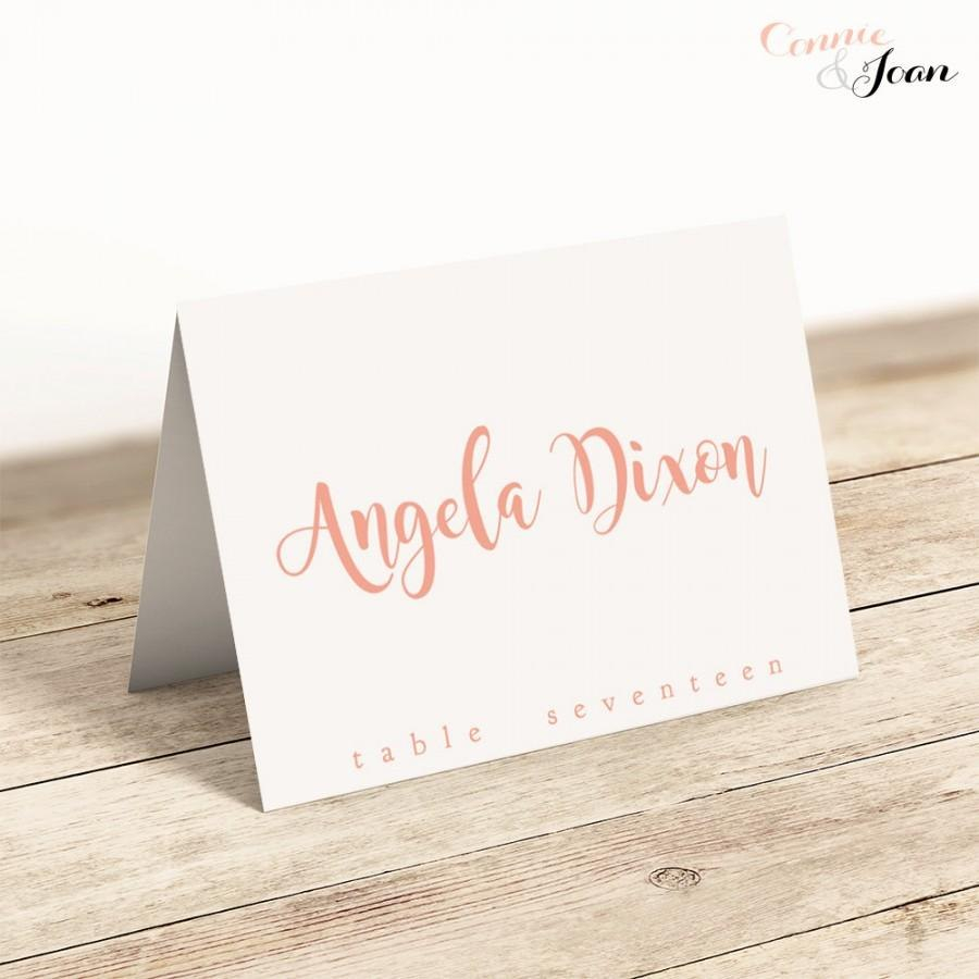Template Ideas Printable Folded Place Cards Table Name Wedding Within Table Name Cards Template Free