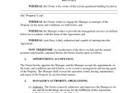 Template Ideas Property Management Agreements Templates with regard to Free Commercial Property Management Agreement Template