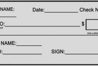 Template Ideas Quickbooks Check Word Cheque Resume Example Blank for Fun Blank Cheque Template