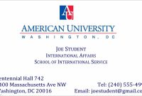 Template Ideas Student Business Cards Templates Valid College with regard to Student Business Card Template