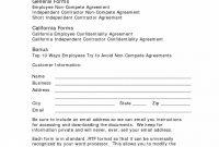 Template Ideas Subcontractor Non Compete Agreement Inspirational for Subcontractor Non Compete Agreement Template