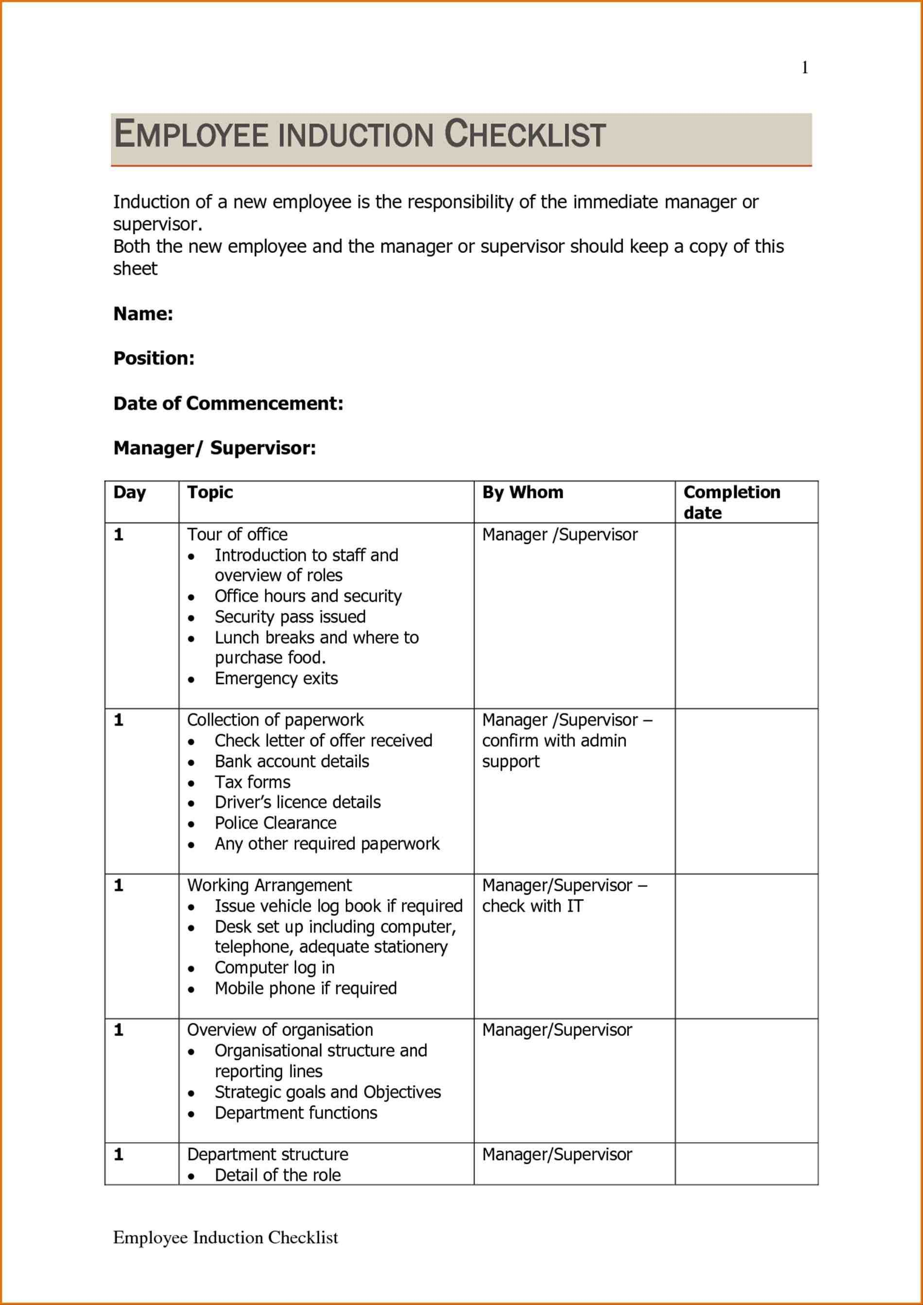 Template Ideas Training Manual Word Employee Safety Free With Instruction Sheet Template Word