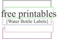 Template Ideas Water Bottle Labels Free Printable Label Wine regarding Water Bottle Label Template Free Word