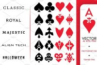 Template Playing Card Design  Savethemdctrails in Playing Card Design Template