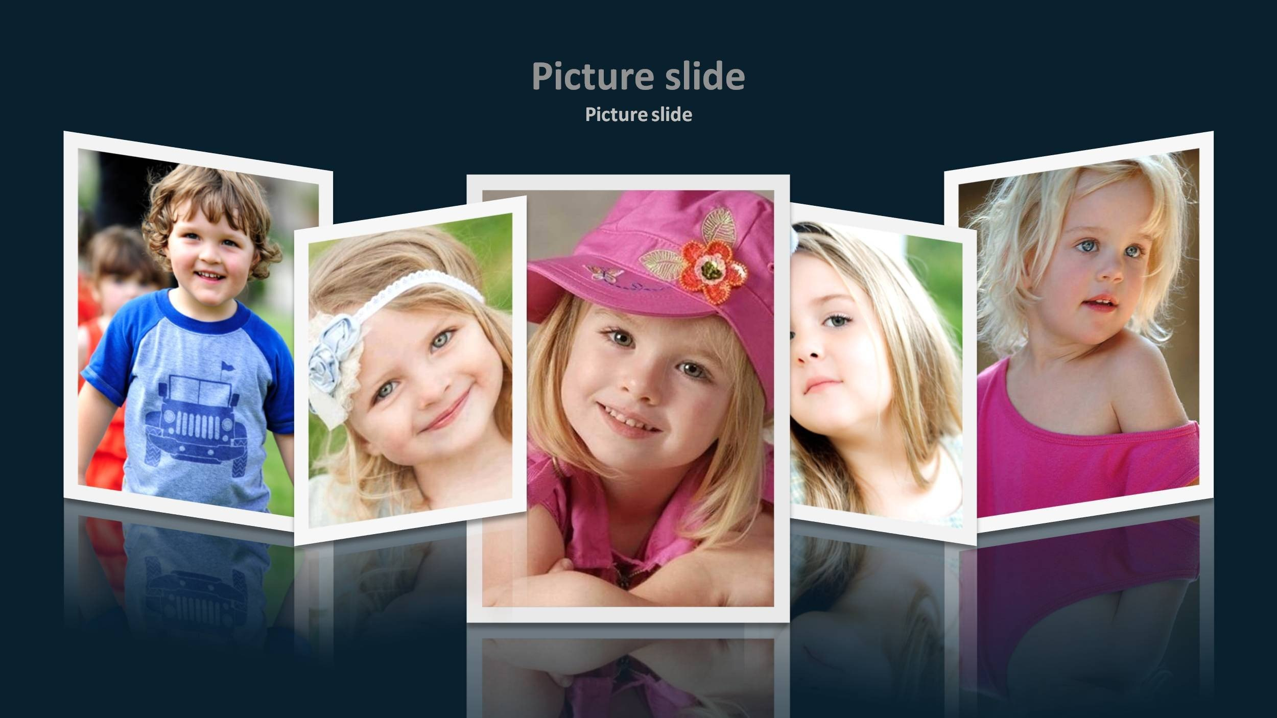 Template Powerpoint Photo Album  Savethemdctrails Intended For Powerpoint Photo Album Template