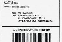 Template Secret Santa Label Template – Package Mailing Labels for Package Mailing Label Template