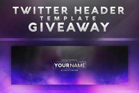 Template Twitter Banner Psd  Savethemdctrails regarding Twitter Banner Template Psd