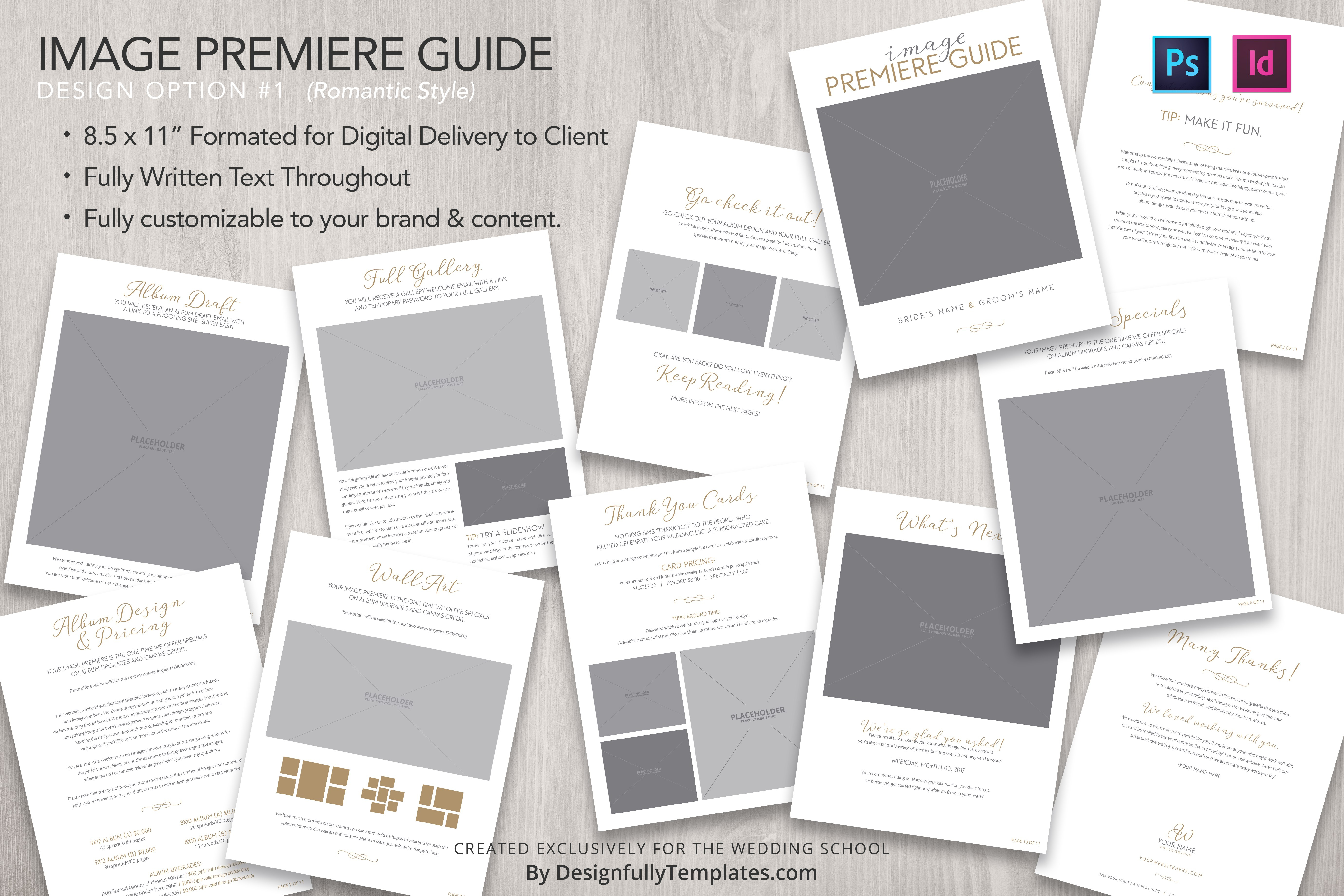 Templates For Wedding Photographers Bundle  The Wedding School Regarding Wedding Photography Terms And Conditions Template