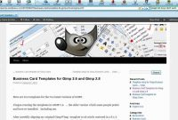 Ten Business Card Template For Gimp Full Tutorial  Youtube pertaining to Gimp Business Card Template