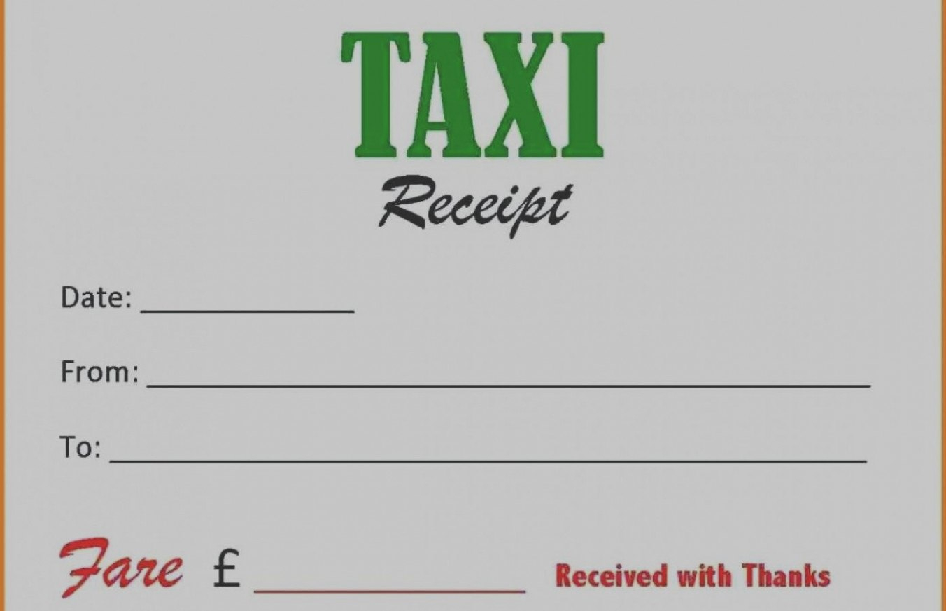 Ten Reasons Why Taxi Cab Receipt Template Is  Invoice Form Within Blank Taxi Receipt Template