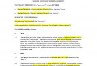Tenancy Agreement Template intended for Assured Short Term Tenancy Agreement Template