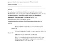 Tenancy Termination Letters  Free Samples Examples Download within Fixed Term Tenancy Agreement Template
