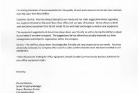 Testimonial Letters  Common Sense Business Solutions regarding Business Testimonial Template