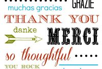 Thank You Card Free Printable within Free Printable Thank You Card Template