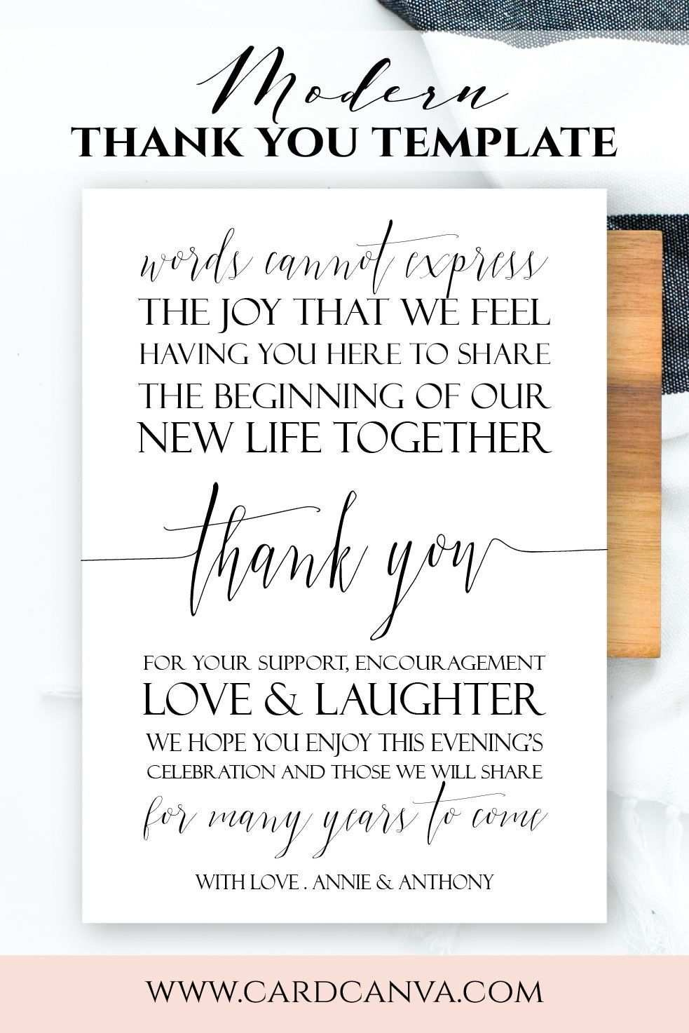 Thank You Card Template Publisher In Usmc Meal Card Template