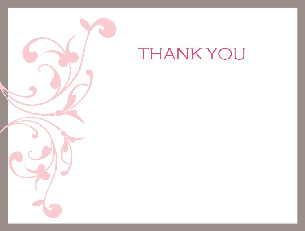 Thank You Note Template Free Card Osrok Imposing Ideas Word Inside Thank You Note Card Template