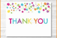 Thank You Templete  Quick Askips pertaining to Thank You Note Card Template