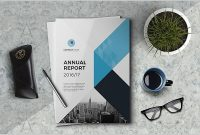 The Annual Report Template Brochure Template Indesign Templates pertaining to Annual Report Template Word