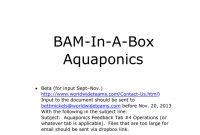 The Aquaponics Business Plan Pdf within Aquaponics Business Plan Templates