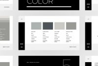 The Ashi Brand Guidelines Powerpoint Template Is A Minimalinspired for Replace Powerpoint Template