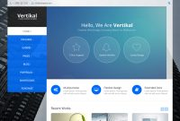 The  Best Vertical Menu WordPress Themes For   Compete Themes pertaining to Vertical Menu Css Templates