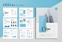 The Blue Annual Report pertaining to Summary Annual Report Template