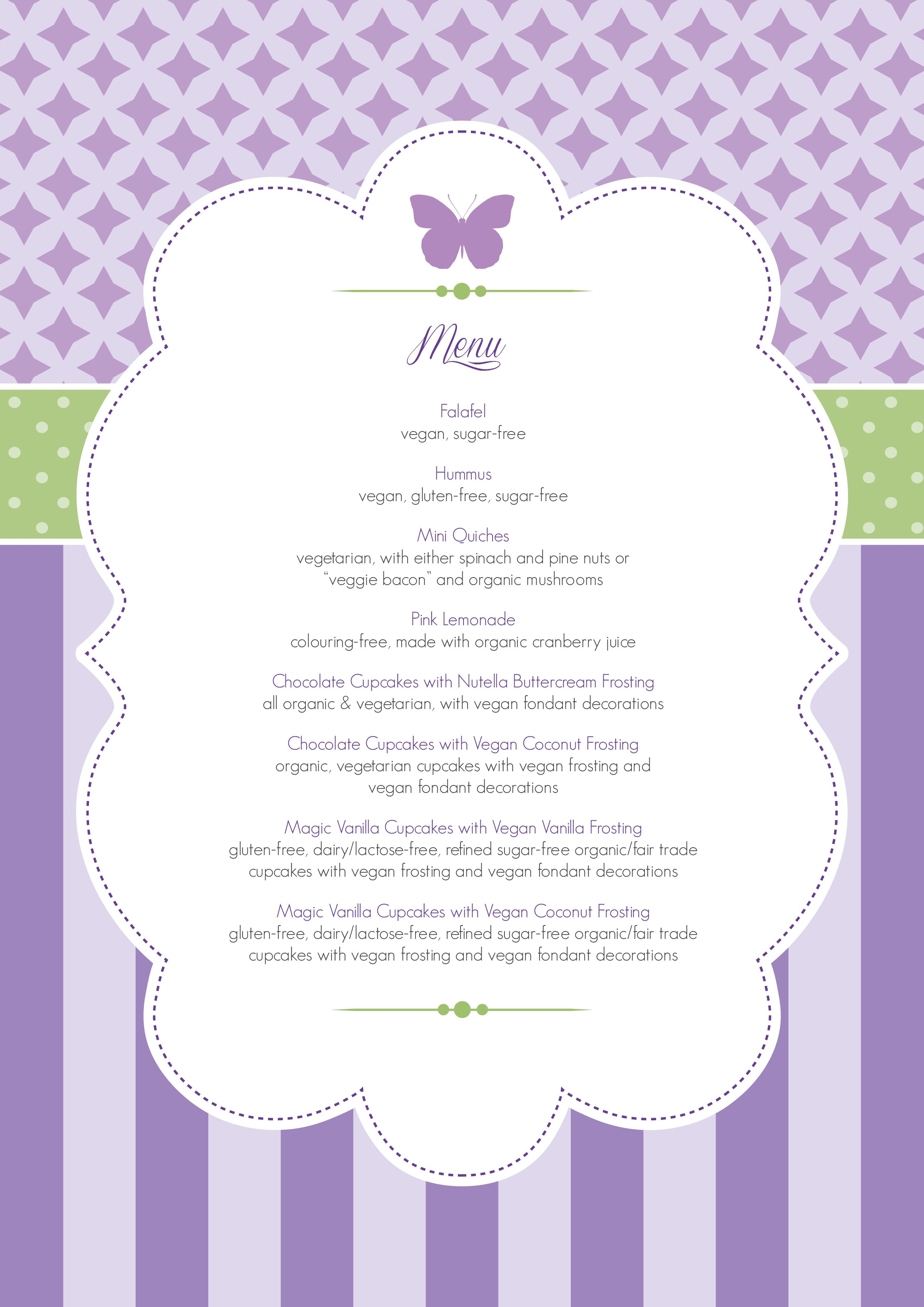 The Complete Blessingway Roundup With Lots Of Free Printables In Baby Shower Menu Template Free