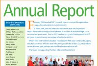 The Match Nonprofit Annual Report Template Outstanding Ideas regarding Non Profit Annual Report Template