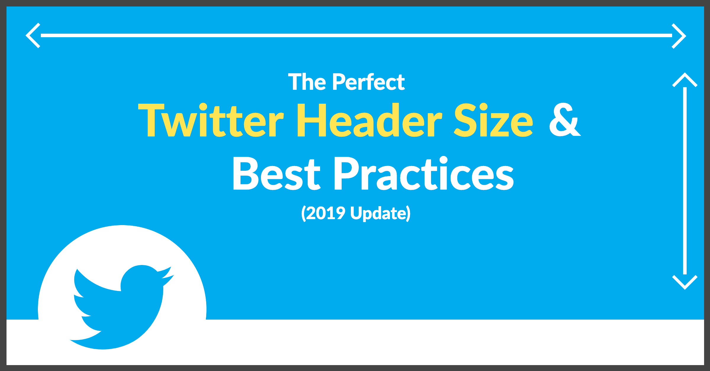 The Perfect Twitter Header Size  Best Practices  Update For Blank Twitter Profile Template