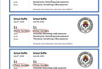 The Secret To Creating Numbered Raffle Tickets In Word inside Free Raffle Ticket Template For Word