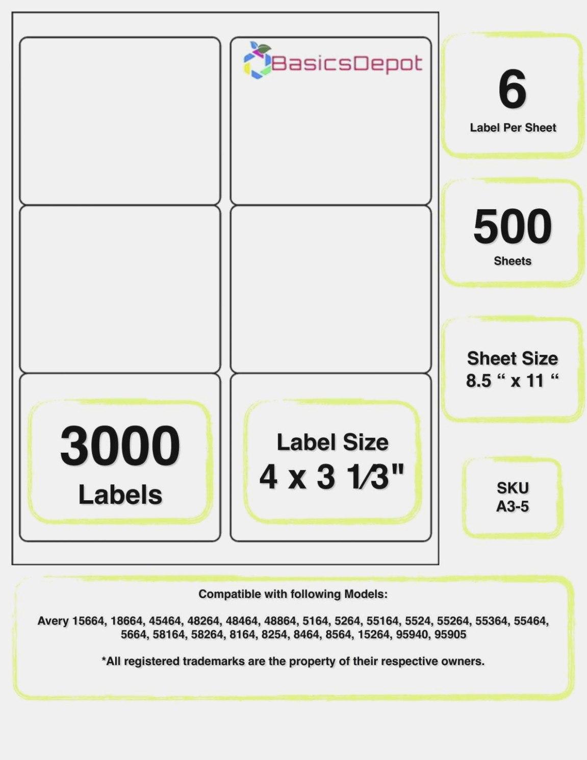 Label Printing Template 21 Per Sheet
