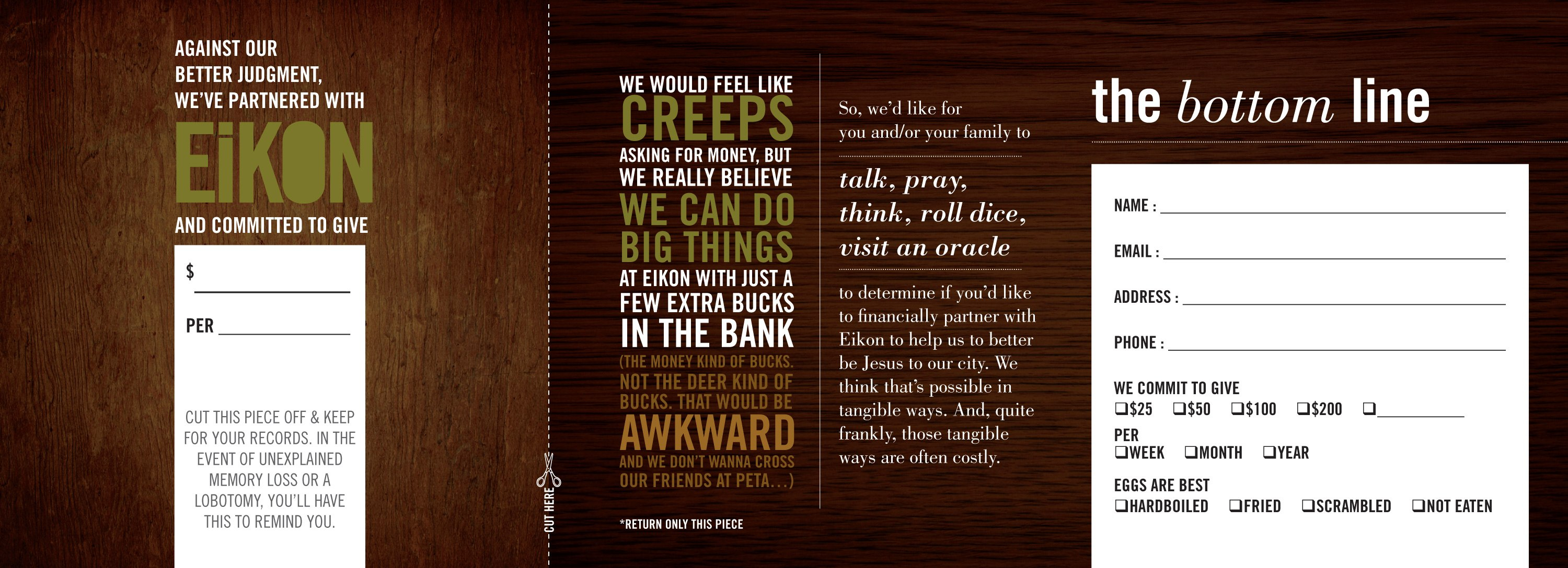 The Weirdest Free Downloadable Church Pledge Card You Might Have Within Pledge Card Template For Church