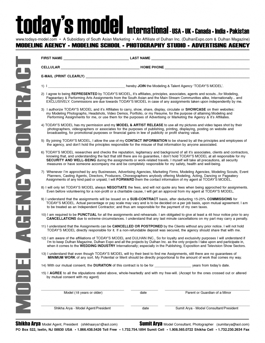 This Is The Advertising Contract Template Free Marketing And Agency For Free Advertising Agency Agreement Template