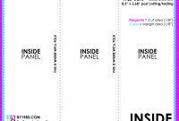 Three Fold Brochure Template Free  Home Design Ideas  Home Design throughout Tri Fold Brochure Ai Template
