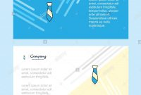 Tie Abstract Corporate Business Banner Template Horizontal intended for Tie Banner Template