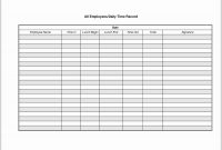 Time Log Sheet For Employees For Log Sheet Template Employee Daily for Employee Daily Report Template
