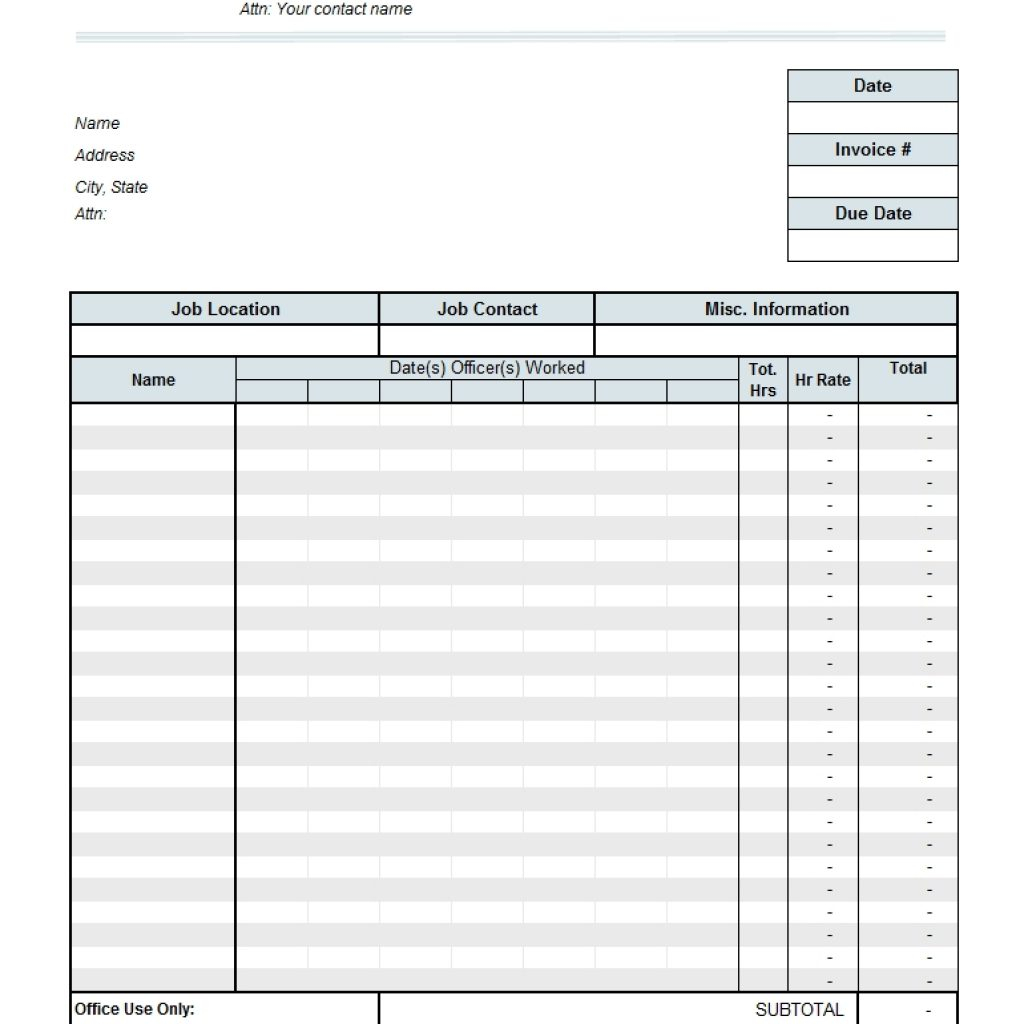 Timesheet Free Invoice Templates For Excel Pdf With Regard To Ndash With Timesheet Invoice Template Excel