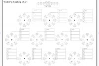 Tips To Seat Your Wedding Guests  Organized  Seating Chart Wedding within Wedding Seating Chart Template Word