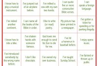 """Today's Game Is """"life Experiences Bingo"""" This Makes A Great Ice within Ice Breaker Bingo Card Template"""