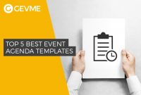 Top  Best Event Agenda Templates intended for Event Agenda Template Word