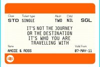 Train Tickets Template – Emmamcintyrephotography with regard to Blank Train Ticket Template