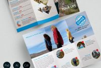 Travel Brochure Template Free Ideas Exceptional Vector Agent intended for Word Travel Brochure Template