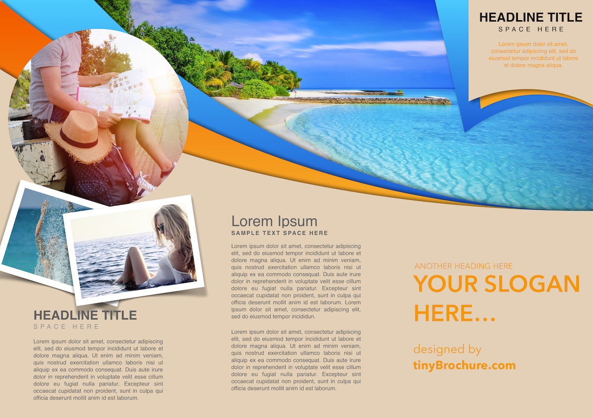 Travel Brochure Template Google Slides With Google Docs Travel Brochure Template