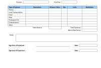 Travel Expenses Report pertaining to Sales Trip Report Template Word