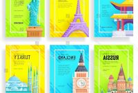 Travel Guide Brochure Template New Travel Flyer Template Free Psd Ai with regard to Country Brochure Template
