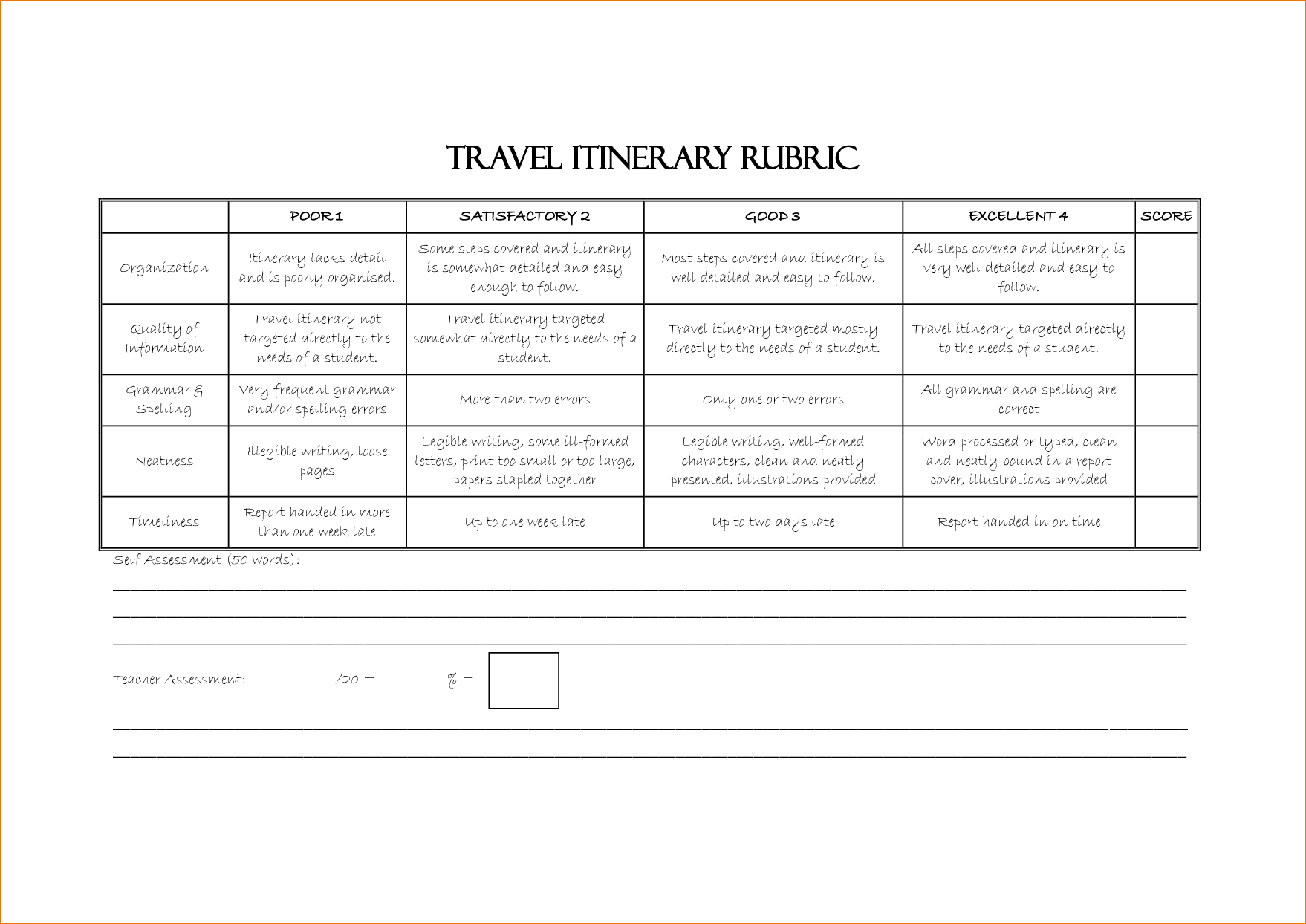 Travel Itinerary Template Word  Teknoswitch Pertaining To Business Travel Itinerary Template Word